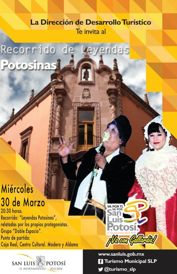 Recorrido de Leyendas Potosinas @ Centro Cultural Caja Real