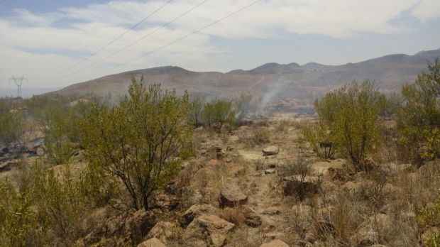 incendio Cañada Lobo