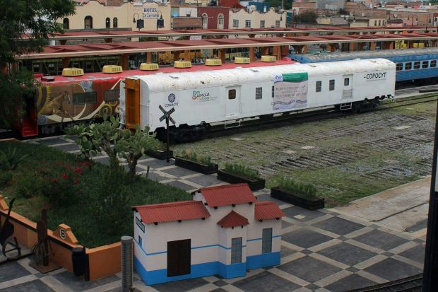 vagon de la ciencia museo ferrocarril