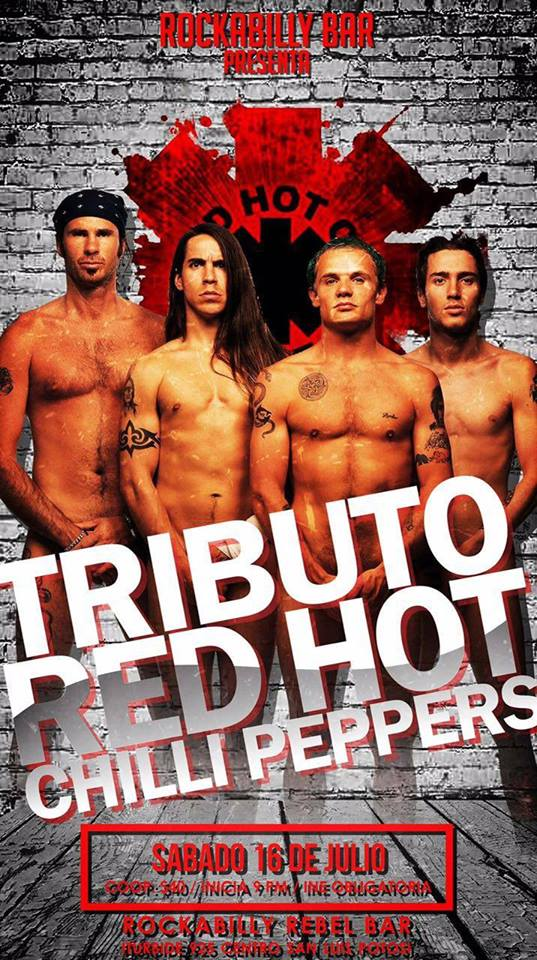 Tributo Red Hot Chili Peppers @ Rockabilly Bar