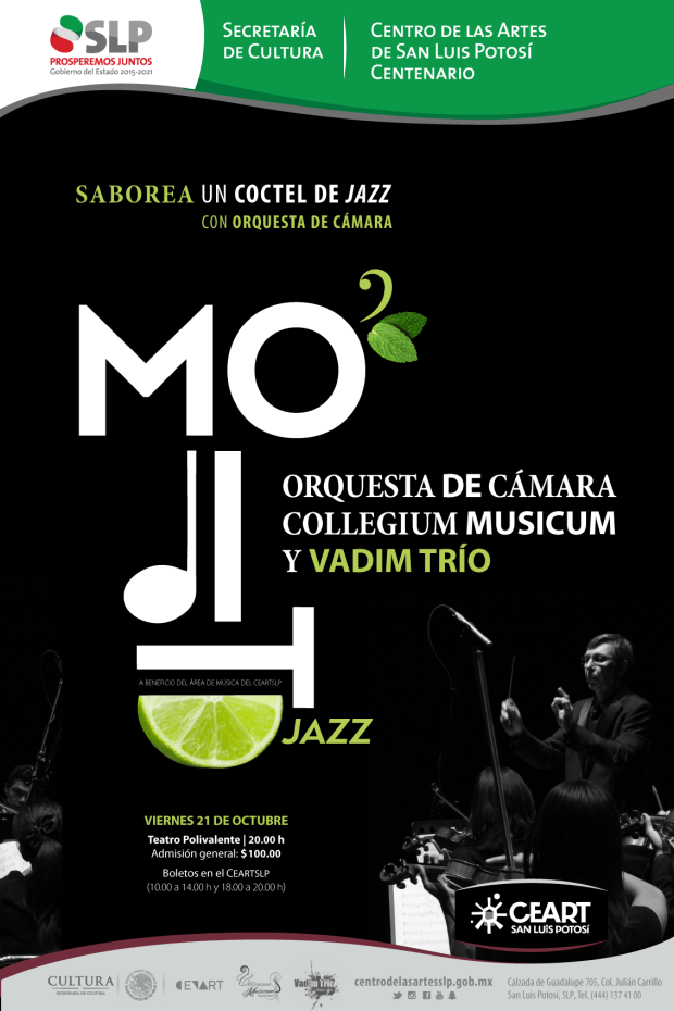 Presentación de Mo-ji-to Jazz @ Centro de las Artes de San Luis Potosí