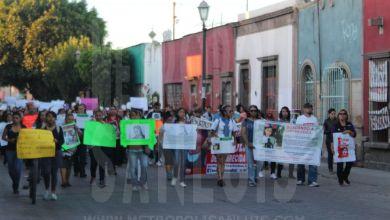 Photo of Marchan por las mujeres desaparecidas en San Luis Potosí