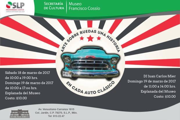 Arte sobre ruedas, una historia en cada auto clásico @ Museo Francisco Cossío