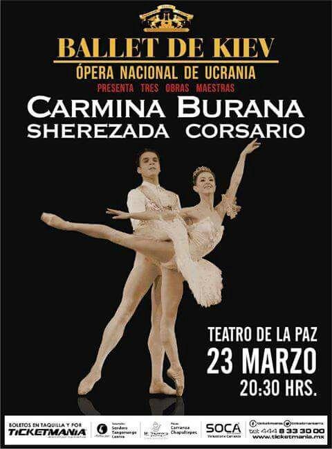 Ballet de Kiev en el Teatro de la Paz @ Teatro de la Paz