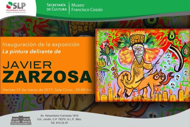 La pintura delirante de Javier Zarzosa @ Museo Francisco Cossío