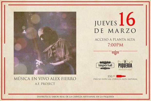 Cervecería Imperial y Jazz Fusión @ La Piqueria | San Luis Potosí | San Luis Potosí | México