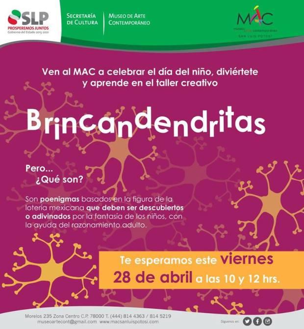 """Día del Niño """"Brincadendritas"""" en el MAC @ Museo de Arte Contemporáneo"""
