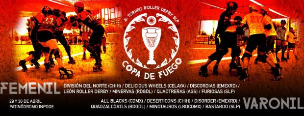 2a edición de Copa Fuego (Roller Derby) @ INPODE