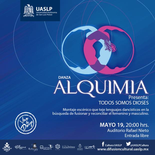 Danza Alquimia presenta: Somos dioses @ Auditorio Rafael Nieto