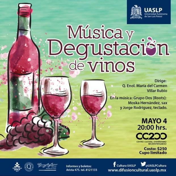 Música y degustación de vinos @ Centro Cultural Universitario Bicentenario