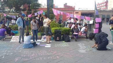 Photo of Potosinas realizan mitín y exigen justicia para Mara