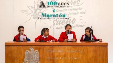 Photo of UASLP realizó XII Maratón de lectura, en homenaje al escritor Juan José Arreola