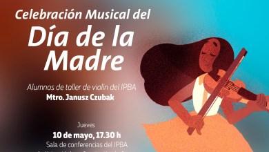 Photo of Concierto de violín para el Día de la Madre