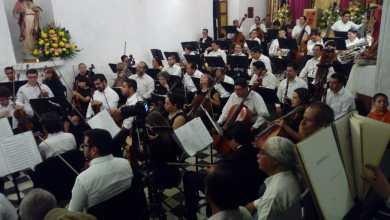 Photo of Orquesta Sinfónica de SLP ofreció concierto en Exconvento de San Agustín de Xilitla