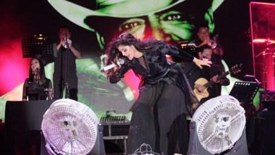 Photo of Ana Bárbara se presentó exitosamente en la FENAPO