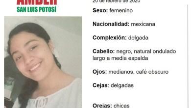 Photo of Activan Alerta Amber en SLP para encontrar niña de 16 años