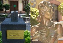 Photo of Roban busto de Lupe Vélez en Barrio de San Sebastián