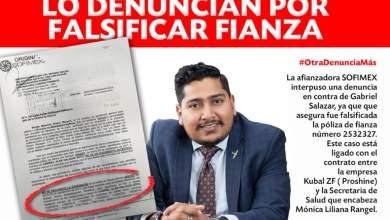 Photo of Gabo Salazar denunciado por falsificar fianza