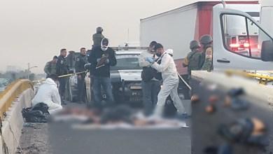 Photo of Abandonan 2 personas descuartizadas en la Carretera 57