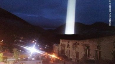 Photo of Presuntamente captan extraña luz en Real de Catorce