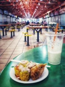 Siomei und Avocado-Shake (Foto: Zenz)