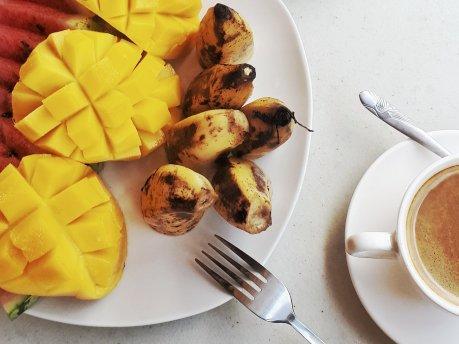 Frühstücken bei Fayeyeh's (Foto: Zenz)
