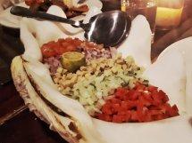 """Ceviche (""""Kinilaw"""") bei Kermit (Foto: Zenz)"""