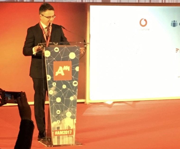 Francisco Cabrera inaugura Andalucía Management 2017