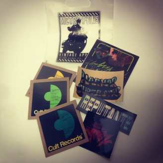 Gift bags are gone but lots more of give a ways from #cultrecords