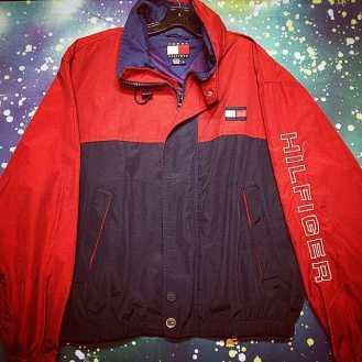 Vintage TOMMY HILFIGER Jacket, Size Large! #metropolis #metropolisvintage #metropolisnycvintage #tommyhilfiger #jacket