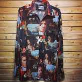 Vintage wild print shirt! #metropolis #metropolisnycvintage #metropolisvintage #disco #rave #uglyshirts