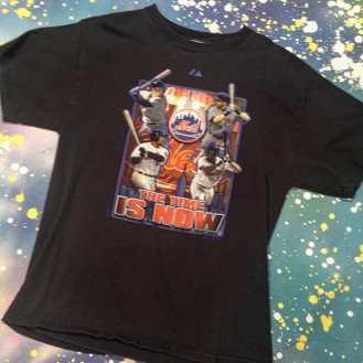 METROPOLIS SPORTS TEE MANIA WEEK! METS - The Time Is NOW T-Shirt #metropolis #metropolisnycvintage #metropolisvintage #sportstshirts #tshirts #mets #baseball