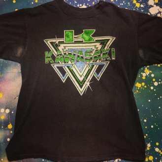 METROPOLIS T-SHIRT MADNESS: KAWASAKI MOTIRCYCLES T-Shirt! #metropolis #metropolisvintage #metropolisnycvintage #metropolistshirts #metropolistshirtmadness #vintagetshirts #tshirts #kawasaki #motorcycles