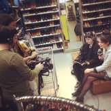 FUSE TV stopped by Metropolis to film the latest episode of GLAM OR SHAM with Katie Van Buren today. Check it out this Friday at 5 pm! #fusetv #metropolisnycvintage #metropolisvintage #metropolis #katievanburen #glamorsham