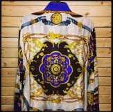 Versace Style Silk Shirts #versace #versaceshirt #versacestyle #silkshirt #vintage90s #ilovethe90s #tribenyc #afropunk