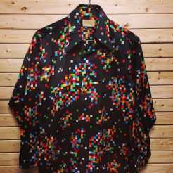 1970 Men's Disco Shirt #disco #vintageshirt #vintage1970s #vintagenyc #studio54 #1970s #discoshirt @metropolisnycvintage