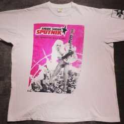 Sigue Sigue Sputnik t shirt http://etsy.me/L4kKSR #siguesiguesputnik #vintagetshirt #vintagenyc #vintage90s #rocktshirt vintage80s #shemale