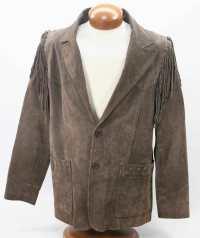 Fringed Jacket metropolis vintage