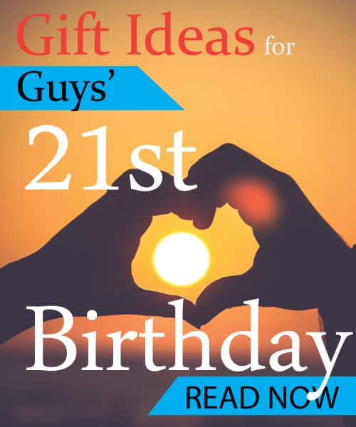 21st Birthday Gift Ideas For Guys With Images
