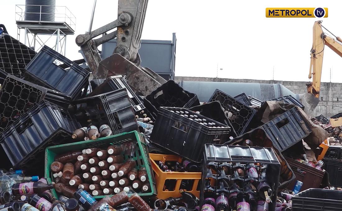 KRA destroys Ksh.1 billion worth of Contraband Goods