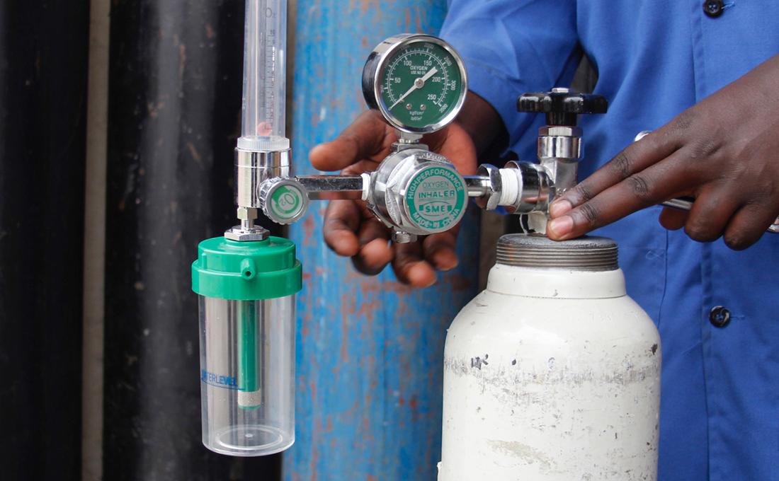 Uganda's military start producing medical oxygen to bridge supply gap as COVID cases rise
