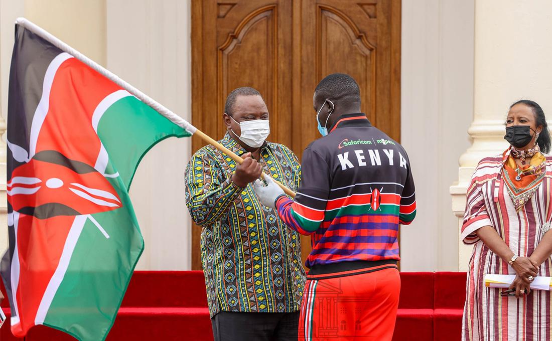 President tasks Olympics team to be good ambassadors