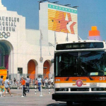 SCRTD Bus, 1984 Olympics Los Angeles