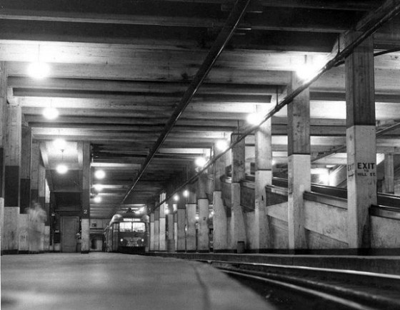 PE subway tunnel