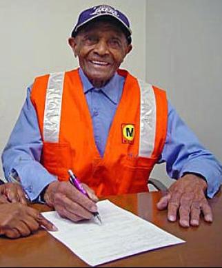 Arthur Winston retires