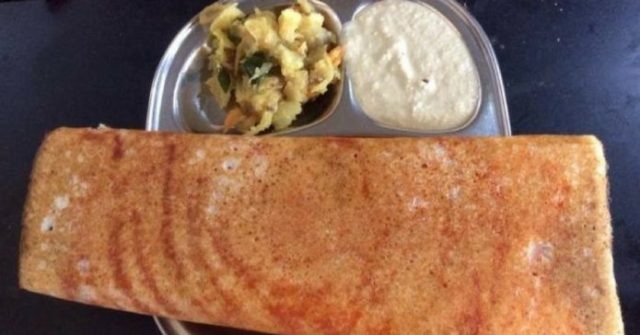 Masala dosa in Bangalore