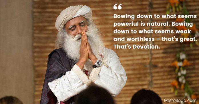 sadhguru quotes on leadership