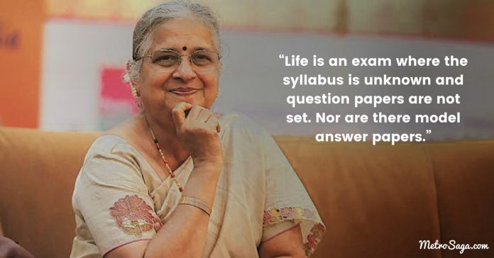 sudha murthy quotes on life