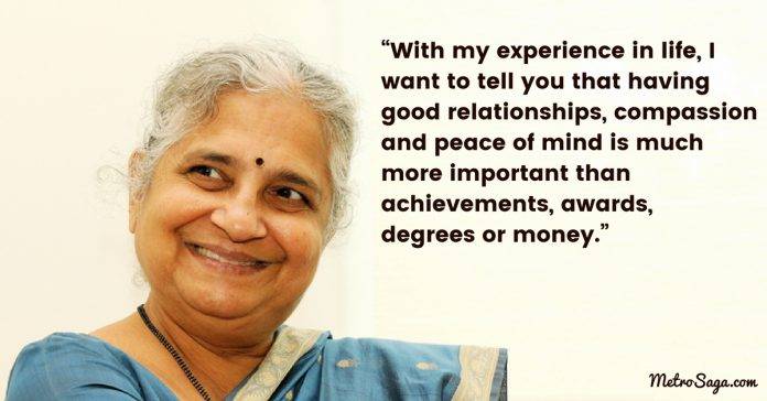 Quotes by Sudha Murthy