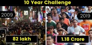 10 year challenge Bengaluru